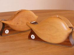 手作り 木製 はっぱのテープカッター